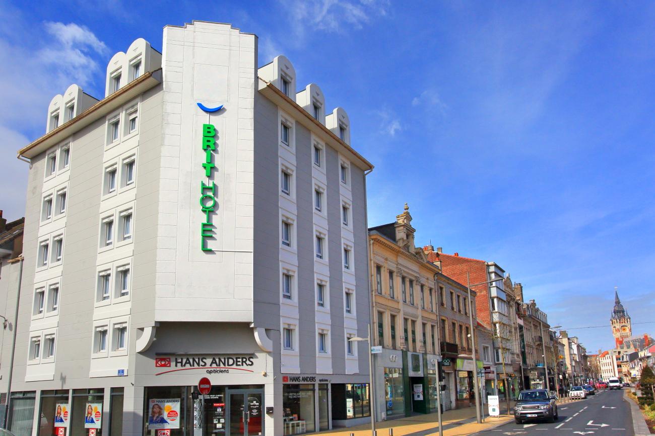 Brit Hotel Ouvre  U00e0 Calais Bd Jacquard