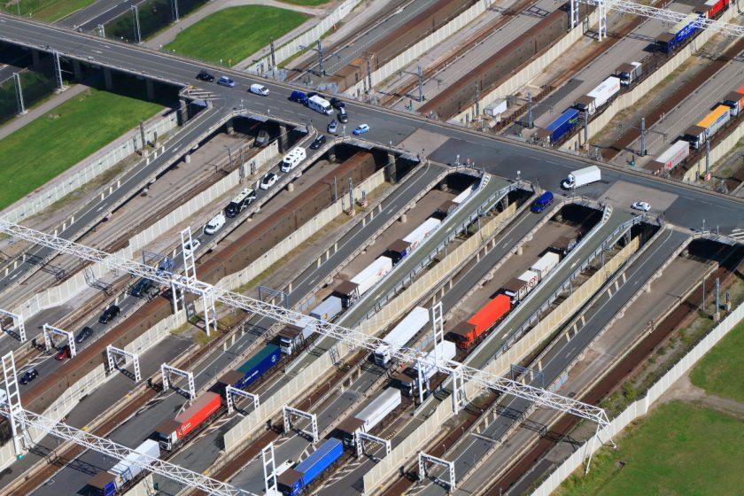 Trafic estival à Eurotunnel