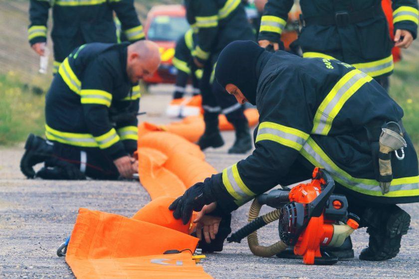 GTS – Exercice Sauvetage/Pollution à Dunkerque